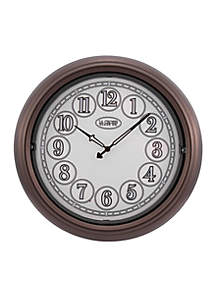 LaCrosse Technology Indoor/Outdoor Lighted Wall Clock