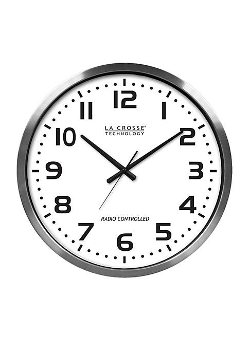 20-in. Atomic Analog Clock