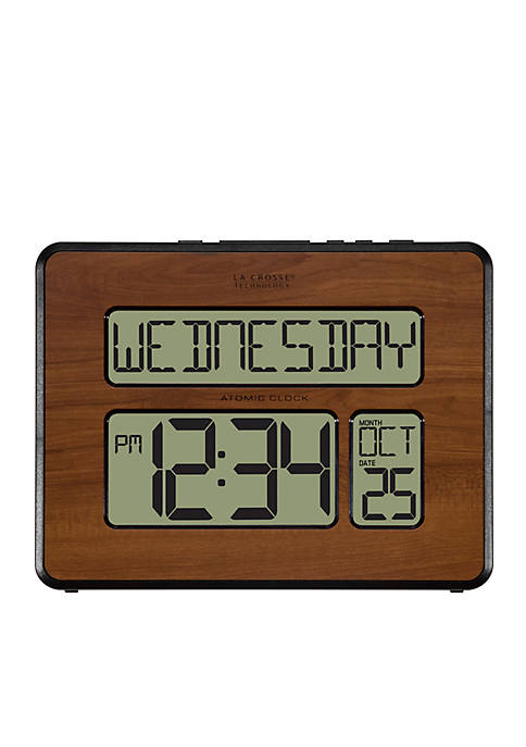 LaCrosse Technology Atomic Digital Wall Clock With Back