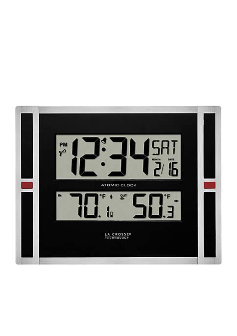 11-in. Digital Clock with Temperature