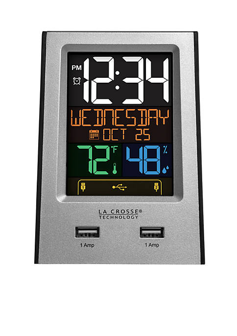 LaCrosse Technology Alarm Clock Charging Station