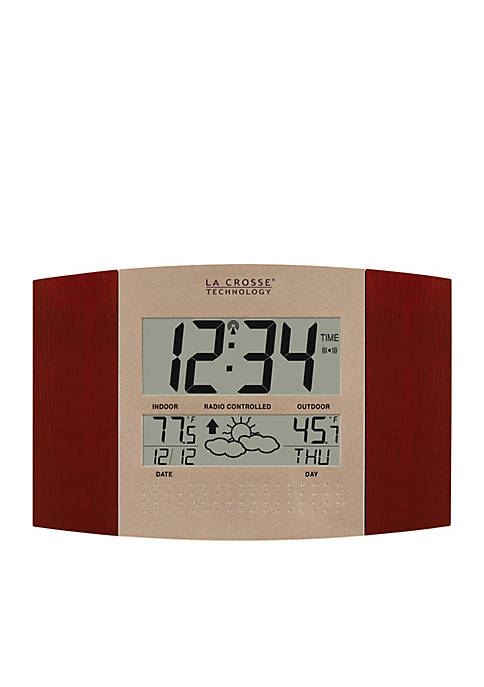 Atomic Clock with Weather Forecast
