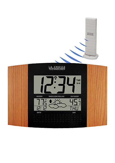 Atomic Clock with Weather Forecast - Online Only