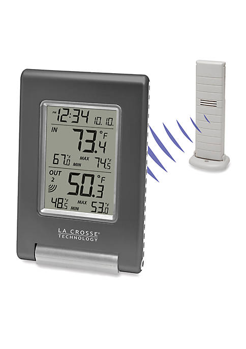 Wireless Temperature Station with Weather Boy Icon