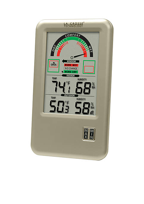 5-in. Comfort Meter with In and Out Temperature