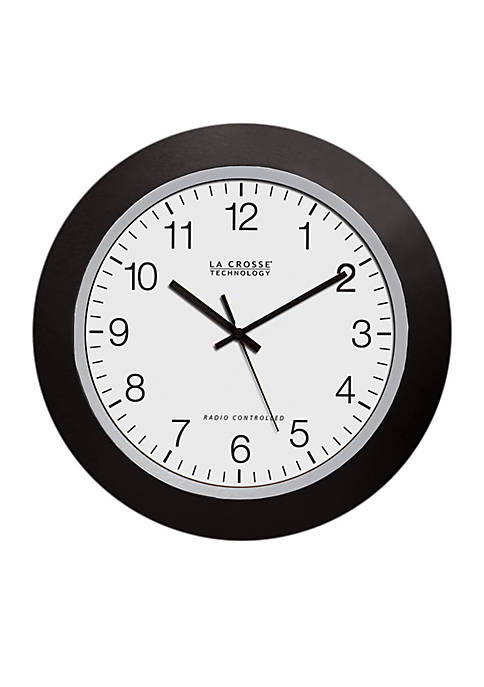 10-in. Atomic Analog Clock