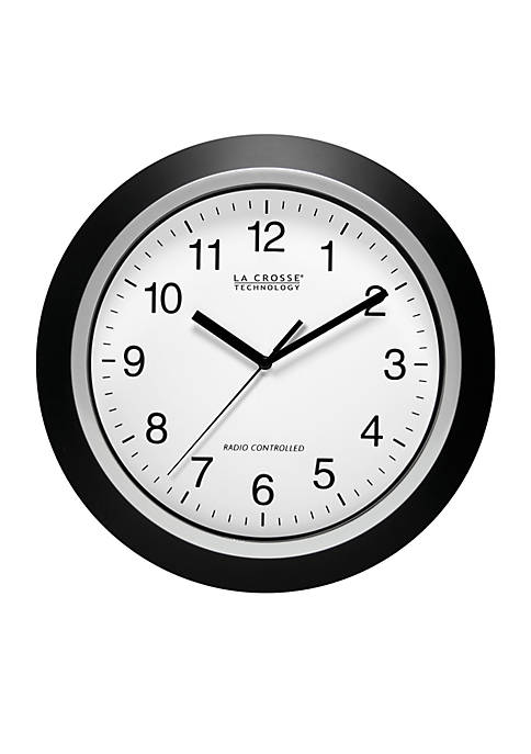 12-in. Atomic Analog Wall Clock