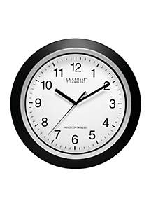 12-in. Atomic Analog Wall Clock