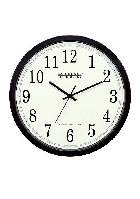 14-in. Atomic Analog Wall Clock