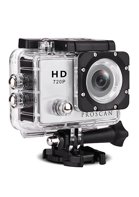ProScan Waterproof Action Camera with Mount