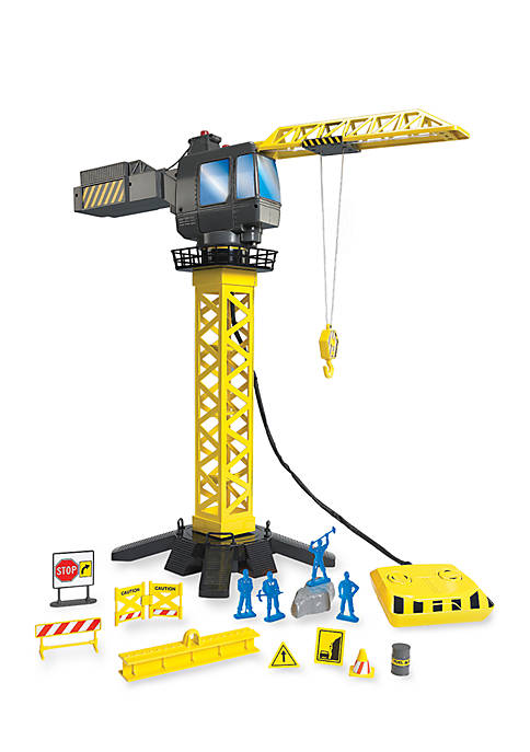 Discovery Kids Remote Control Crane Tower Set