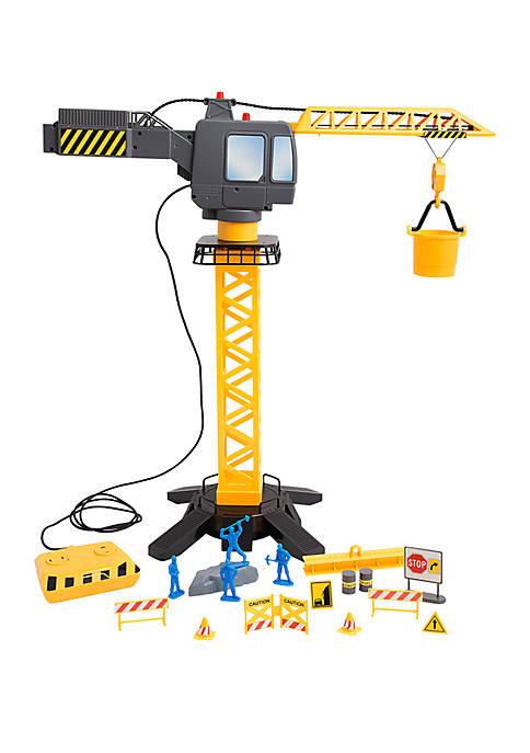 Jumbo Motorized Construction Crane Set