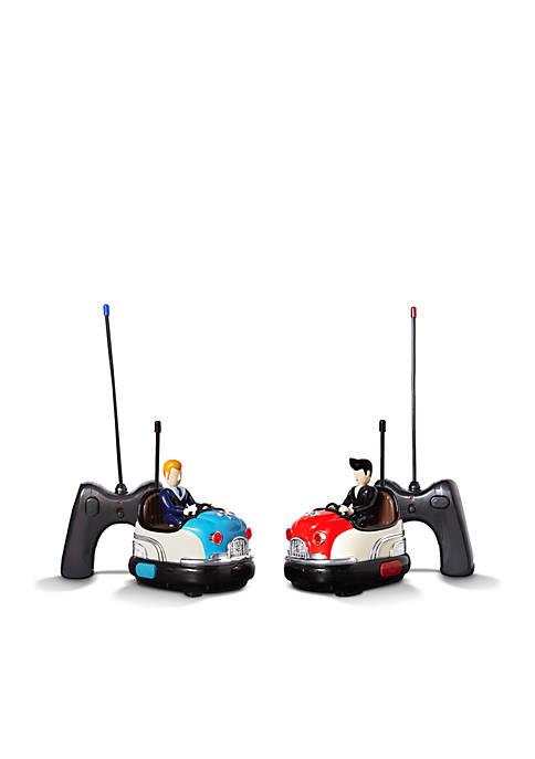 FAO Schwarz Remote Control Retro Bumper Car Set