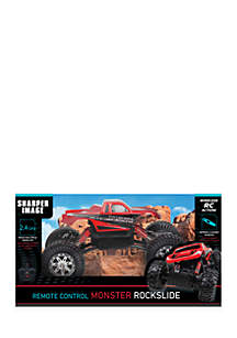 Remote Control Rock Slide Truck