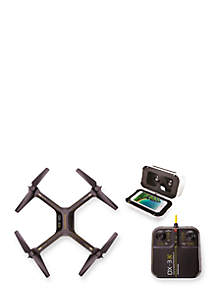 DX Drone with HD Camera and Virtual Reality Smartphone Viewer