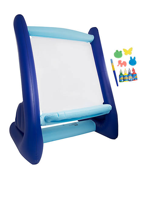 Discovery Kids Inflatable Easel With Paint