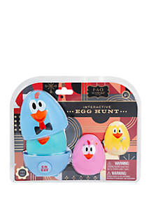 FAO Schwarz Interactive Egg Hunt LED Easter Egg Toy