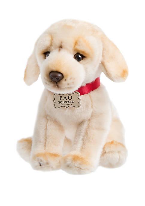 Plush Labrador Puppy
