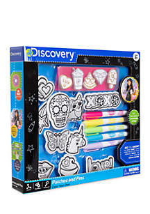Discovery Patches and Pins Set