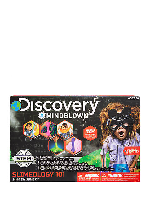 Discovery Kids Mindblown STEM Slimeology 101 5-in-1 DIY
