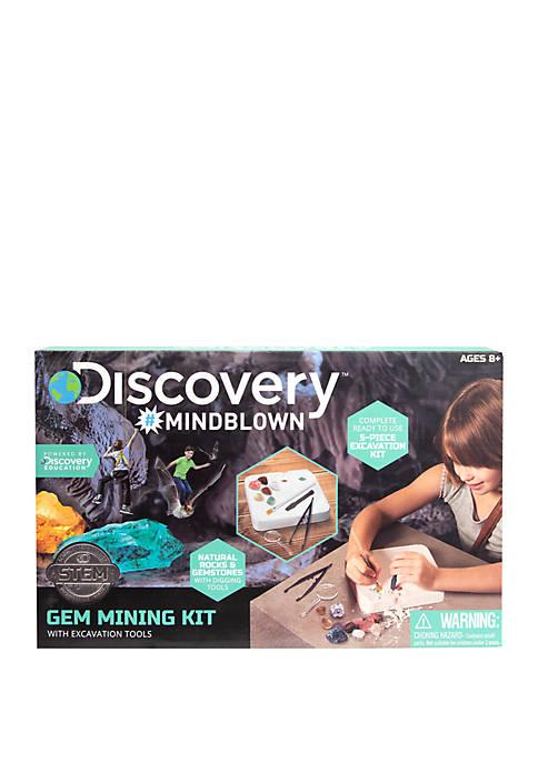 Discovery Kids Mindblown STEM Gem Mining Kit