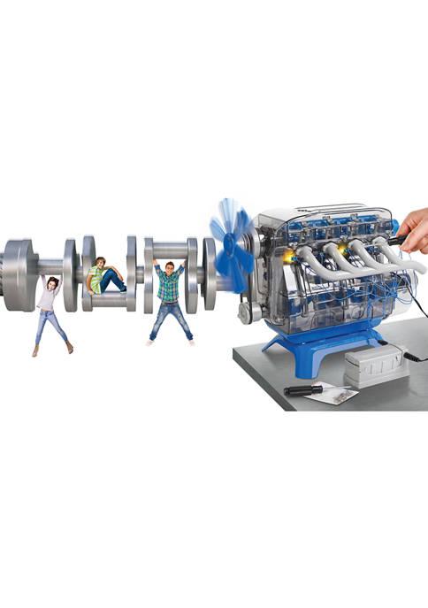 Discovery Kids Mindblown STEM Model Motor Engine Kit