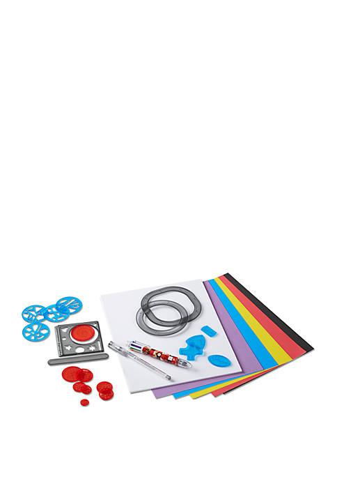 FAO Schwarz 24-Piece Spiral Art Set