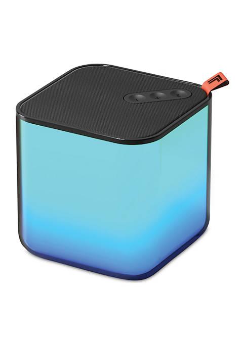 Sharper Image Color Changing Bluetooth Speaker 3x3