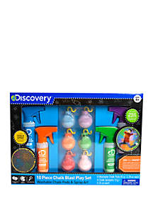 Discovery Kids Toy Chalk Blast 10 Piece Play Set