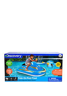 Discovery Kids Toy Inflatable Jet Ski Pool Float
