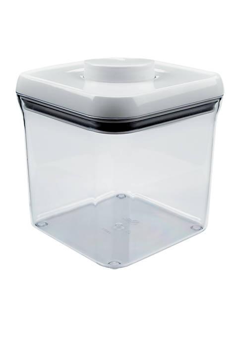 2.4-qt. Big Square Pop Container