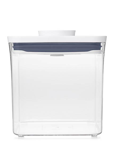 2.8 Quart Pop Big Square Container