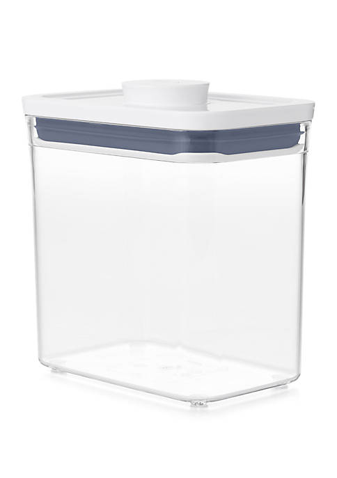 POP Rectangle Short 1.7 Quart Container