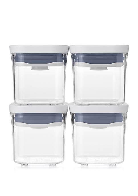 OXO Mini Square POP Container Set of 4