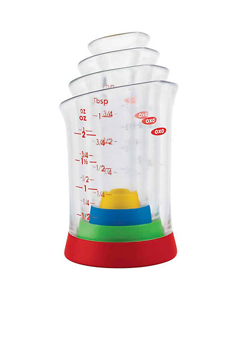 OXO 4-Piece Mini Measuring Beaker Set