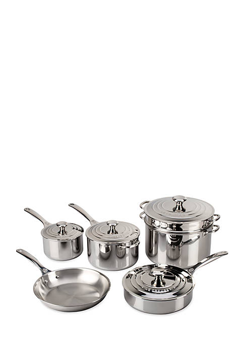 10-Piece Stainless Steel Set