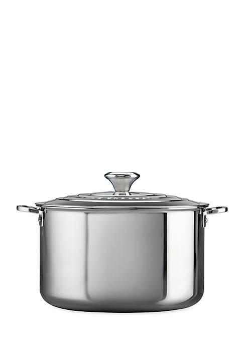 Le Creuset 7-qt. Stainless Steel Stock Pot with