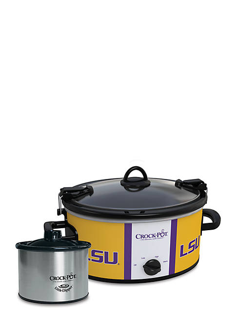 Louisiana State University CrockPot Slow Cooker with Lil