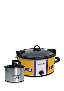 Louisiana State University CrockPot Slow Cooker with Lil Dipper - SCCPNCAA603LSU