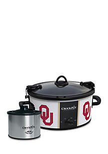 The University of Oklahoma CrockPot Slow Cooker with Lil Dipper - SCCPNCAA603OUS