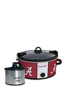 University of Alabama CrockPot Slow Cooker with Lil Dipper