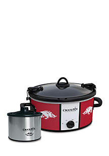 University of Arkansas Crock-Pot Slow Cooker with Lil Dipper - SCCPNCAA603UAR