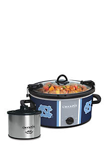University of North Carolina CrockPot Slow Cooker with Lil Dipper - SCCPNCAA603UNC