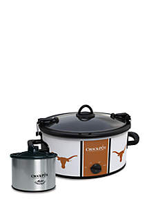 University of Texas CrockPot Slow Cooker with Lil Dipper - SCCPNCAA603UTX