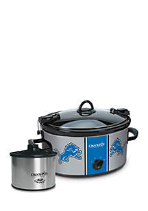 Detroit Lions CrockPot Slow Cooker with Lil Dipper - SCCPNFL603DL