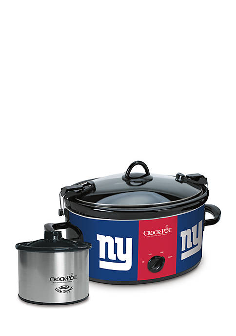 Jarden Electrics New York Giants Crock-Pot Slow Cooker