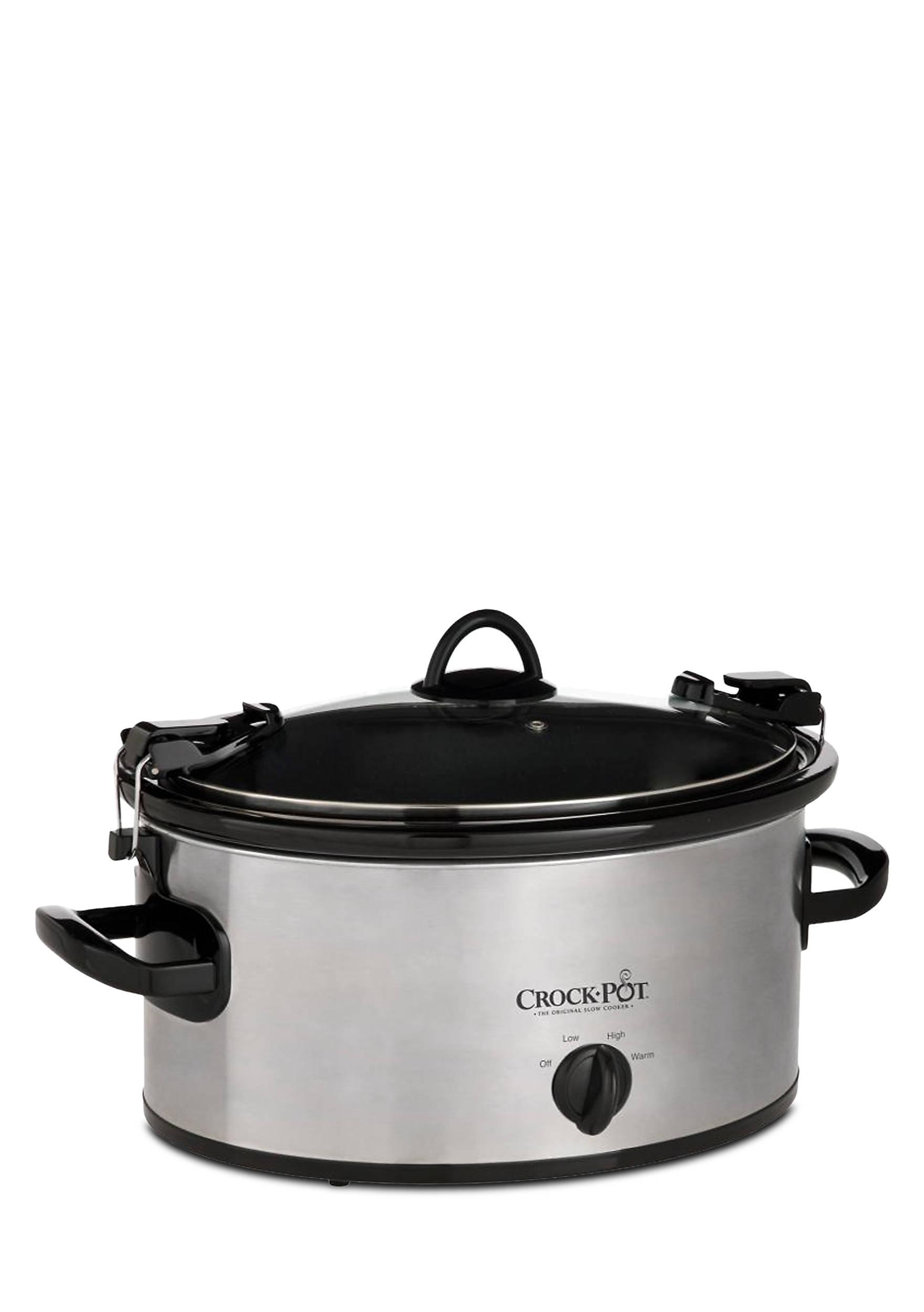 CrockPot 4-qt. Cook & Carry Slow Cooker - SCCPVL400S | belk