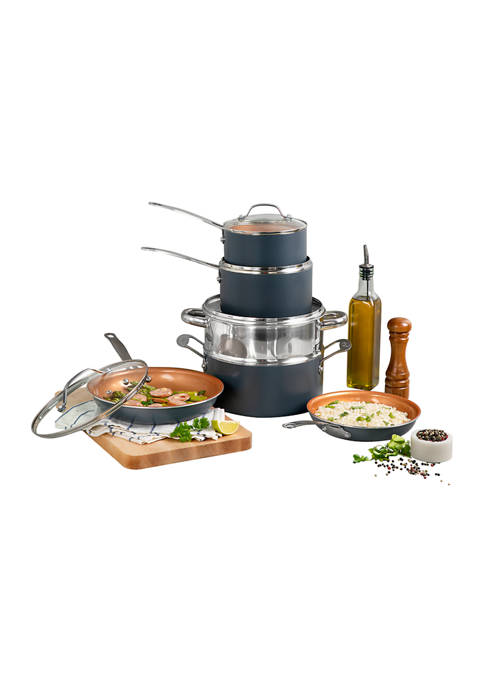 Gotham Steel 10 Piece Ti-Ceramic Nonstick Cookware Set