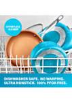 20 Piece Ti-Ceramic Nonstick Cookware and Bakeware Set