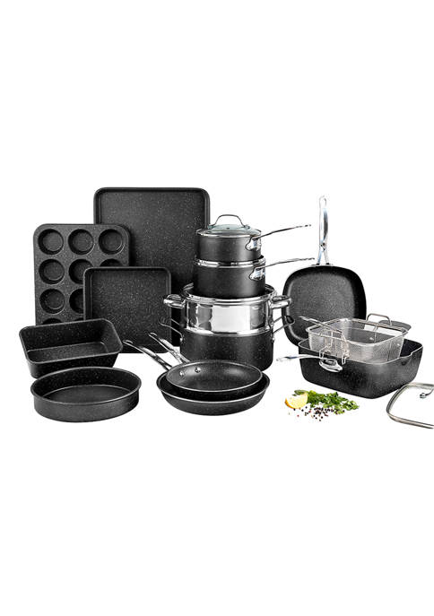 Granite Stone Diamond: 20 Piece Mineral And Diamond Infused Nonstick Cookware and Bakeware Set! 1.50 (REG 3.00) + Free Shipping at Belk!